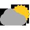Durante la prima parte della giornata Sereno tendente nella seconda parte della giornata Nubi sparse