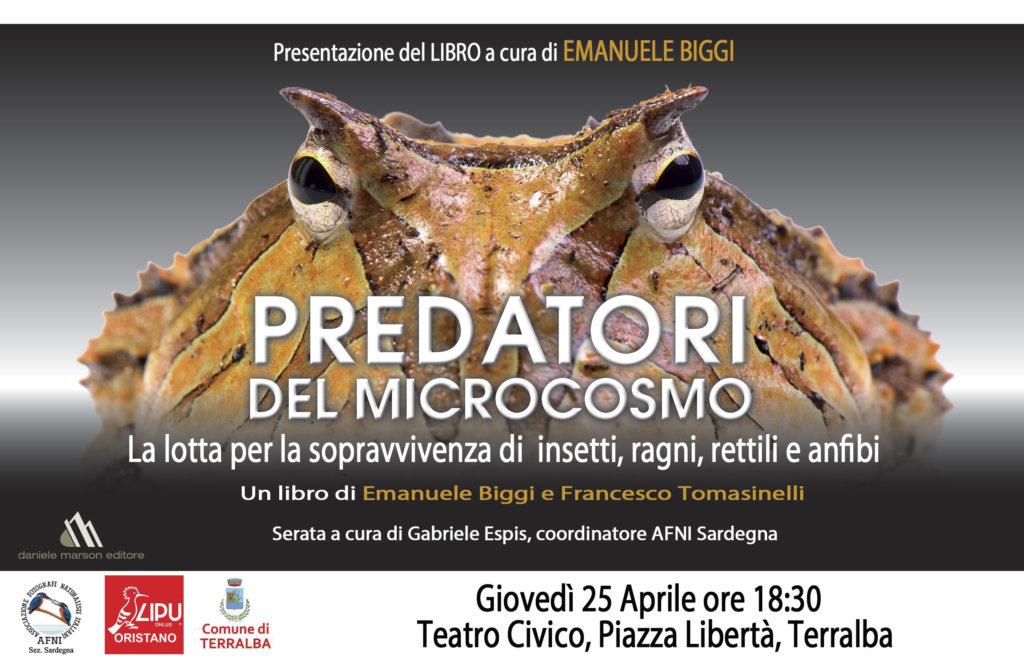InvitoPredatori 1 I predatori del microcosmo nel libro di Emanuele Biggi