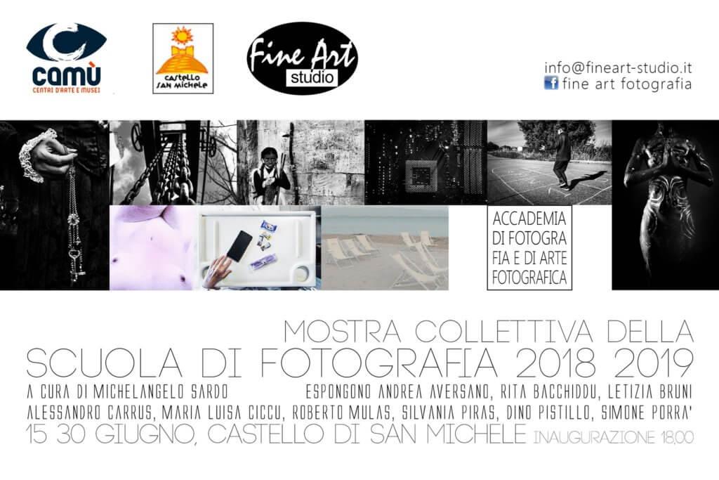 """Locandina evento """"Collettiva di fotografia - Scuola 2018-2019"""""""