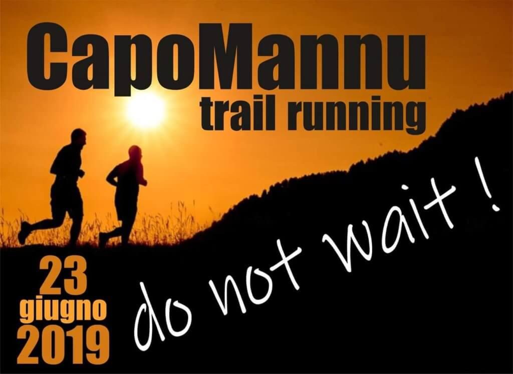 Locandina Capo Mannu trail running
