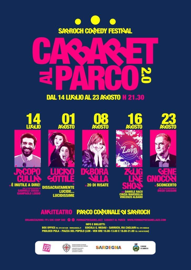 Locandina Cabaret al Parco 2.0