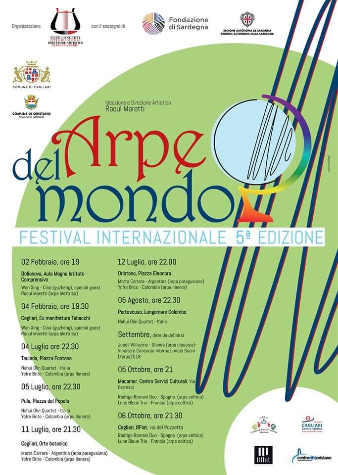 Festival Internazionale Arpe del Mondo V°Edizione