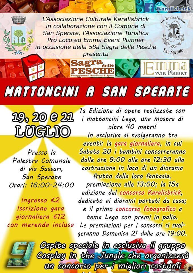 Mattoncini a San Sperate